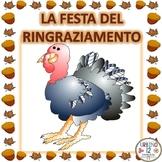 Italian: Ringraziamento Interactive Notebook