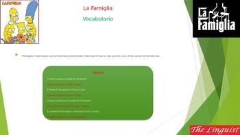 Italian 3 - Novice - Family I