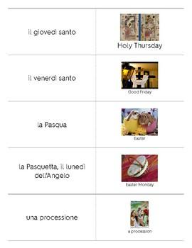 Italian Language Resource Kit: Easter (Pasqua)