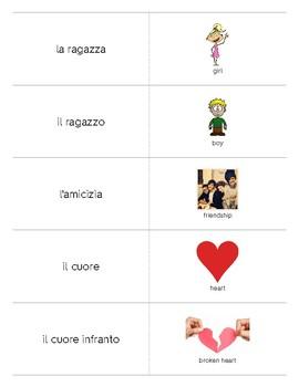 Italian Language Resource Kit: Saint Valentine (San Valentino)