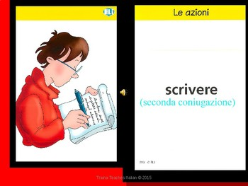 """Italian Made Simple: """"ERE"""" Verb Conjugation Slideshow & Activities"""