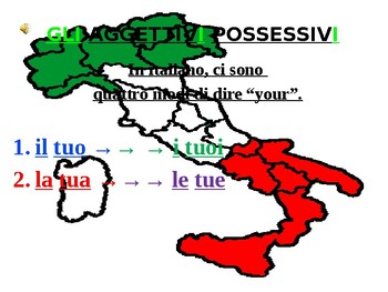 "Italian Made Simple: The Possessive Adjective ""Tuo"""