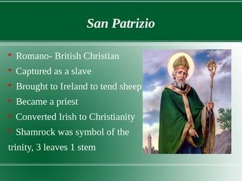 Italian Name Days: St. Joseph and St. Patrick