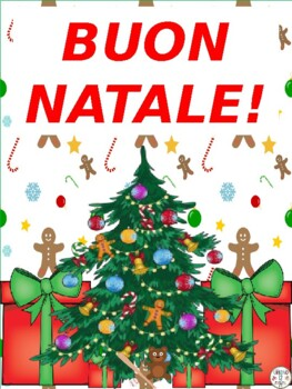 Italian Natale e Hanukkah Tombola