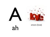 Italian Picture Alphabet PowerPoint