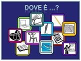 Italian Powerpoint  Interactive School Vocabulary Activity