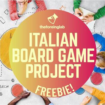 Italian Project: Create Your Own Italian Board Game