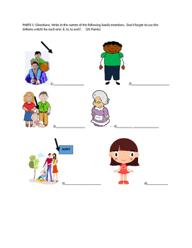 Italian Quiz: La famiglia