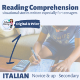 Italian Reading Comprehension 1