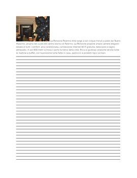 ITALIAN: Read to Write Task l'Albergo Level I