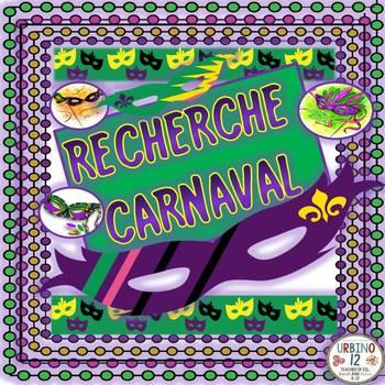 French: Recherche Carnaval