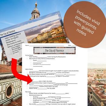 Italian Renaissance - Lesson Bundle