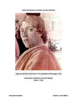 Italian Renaissance Painters: Sandro Botticelli