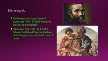 Italian Renaissance Powerpoint Notes