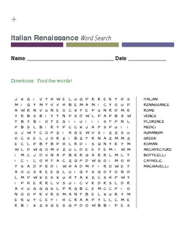 Italian Renassaince