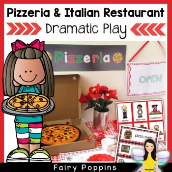 Pizzeria & Italian Restaurant Dramatic Play