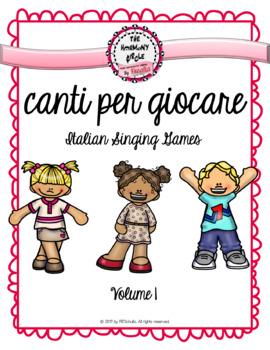 Italian Singing Games