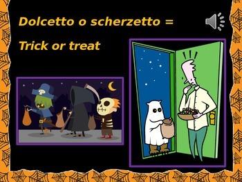 Italian: Spooky Halloween Words (Parole Paurose)