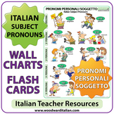 Italian Subject Pronouns - Charts