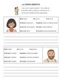 Italian - Subjunctive/Congiuntivo - Writing Activity