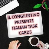 Italian Task Cards: Il Congiuntivo Presente