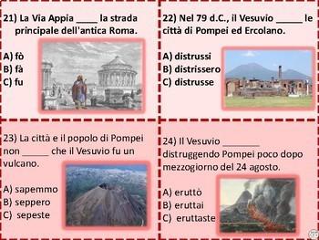 Italian Task Cards: Il Passato Remoto