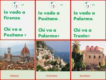 Italian Task Cards: Le Citta' Italiane