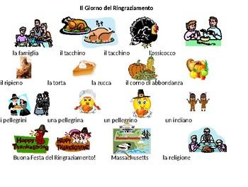 Italian Thanksgiving Activities