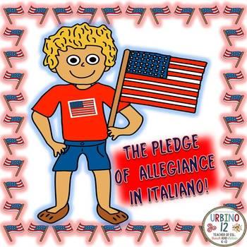 Italian: The Pledge of Allegiance