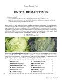 Italian Through Food Beginning Unit #2 (Distance Learning Friendly)