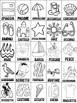 Italian: Tombola Estiva
