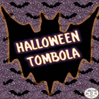 Italian Halloween Tombola  Game