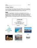 Italian Travel Information Gap Activity