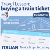 Italian Travel Lesson - Buying a Train Ticket