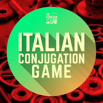 Italian Verb Conjugation Game - 40 Verbs - ALL TENSES practice