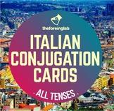 Italian Verb Conjugation Cards: Conjugation Machine – 32 V