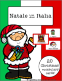 Italian Vocabulary Cards - Christmas (Natale in Italia)