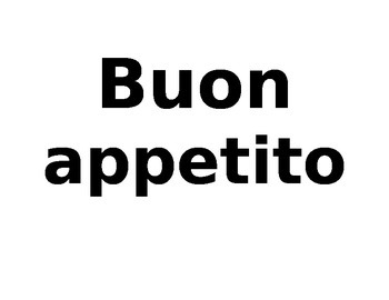Italian Word Wall Free