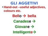 Italian adjectives