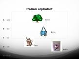 Italian alphabet