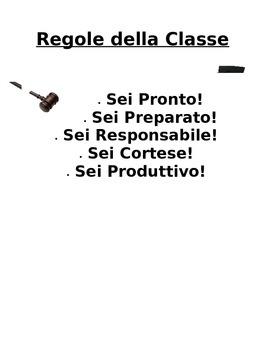 Italian class posters