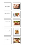 Italian food matching game