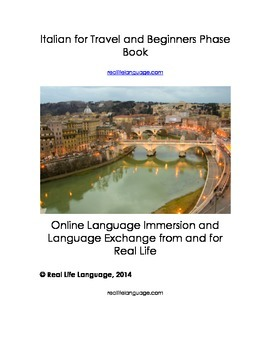 Italian for Travel and Beginners Phrase Book