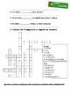 Italian regular '-are' verbs worksheet
