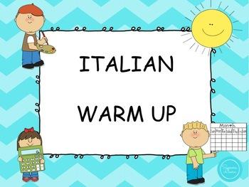 Italian warm up
