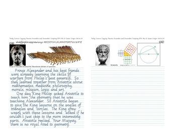 Italic Cursive #6 Tricky Cursive Copying Practice in BFH