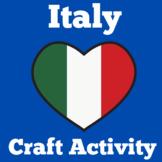 Italy   Craft Activity   Symbols of Italy    Worksheet