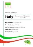 Italy 1919-1943