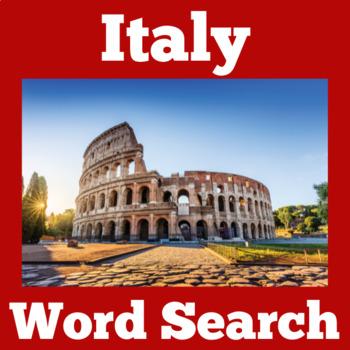 Italy   Italy Activity   Italian Symbols   Italy Craft   Italian