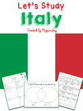 Italy Country Research Packet